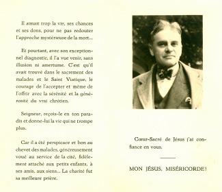 26. Funérailles Dr Lucien Dessy mars 1947 Collection Dupuis Delbrassinne