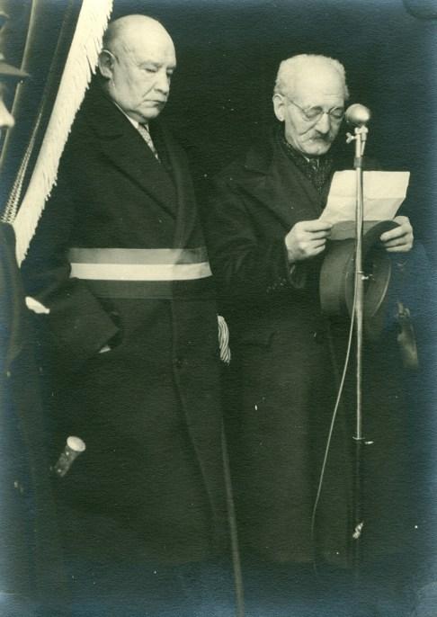 4. Funérailles Dr Lucien Dessy mars 1947 Collection Dupuis Delbrassinne