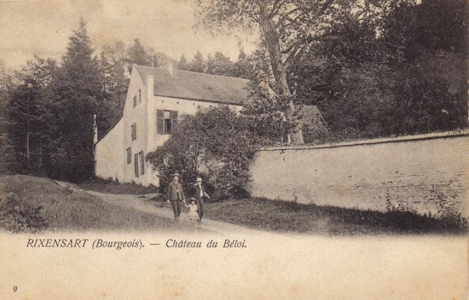 Château du Béloy 1904 coll. Jean-Louis Lebrun