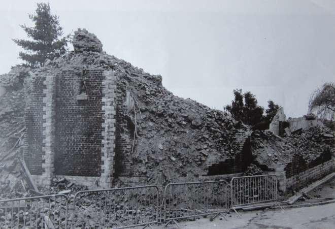 Eglise Saint-Sixte 1978 c CHR origine Christine Melebeke