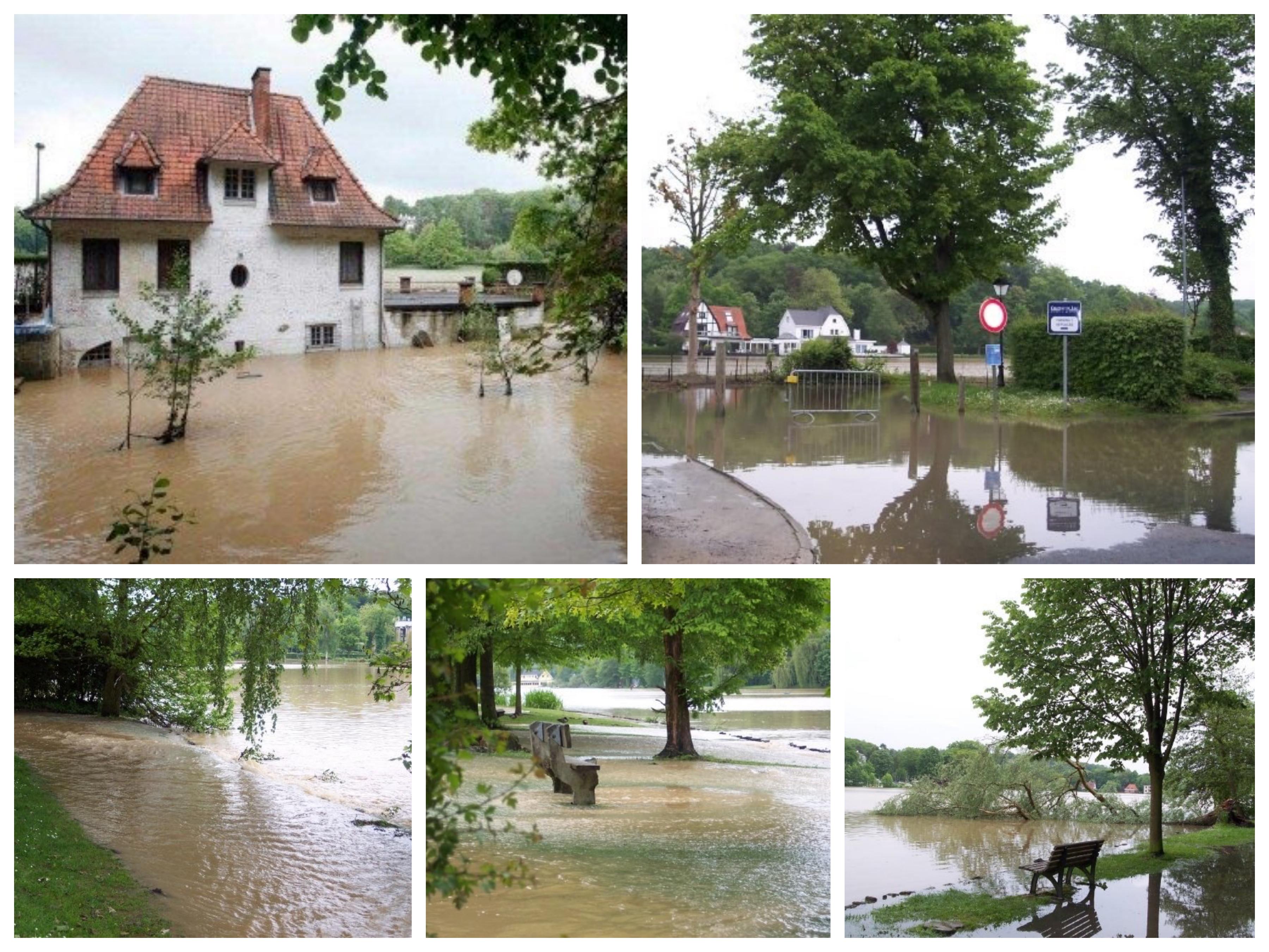 Inondations lac de Genval 15.5.2009 montage © Julien Vanderweerden