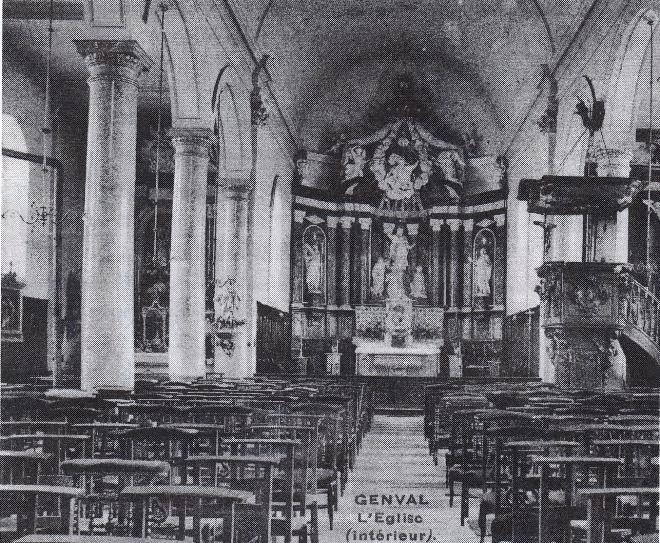 Intérieur église Saint-Sixte coll. CHR