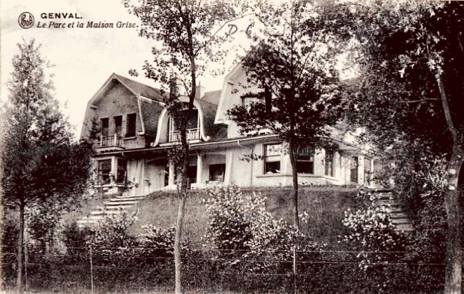 1115B. Le Parc et la Maison Grise à Genval