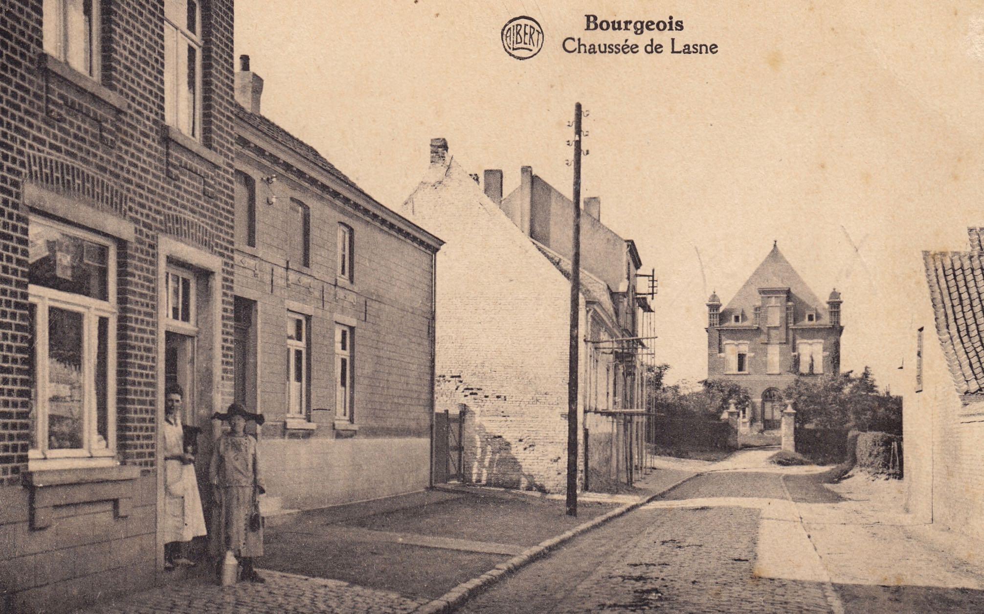 Chaussée de Lasne Bourgeois coll. Jean-Louis Lebrun
