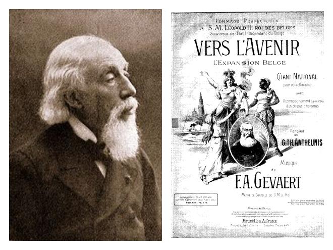 François-Auguste Gevaert et Vers l'Avenir