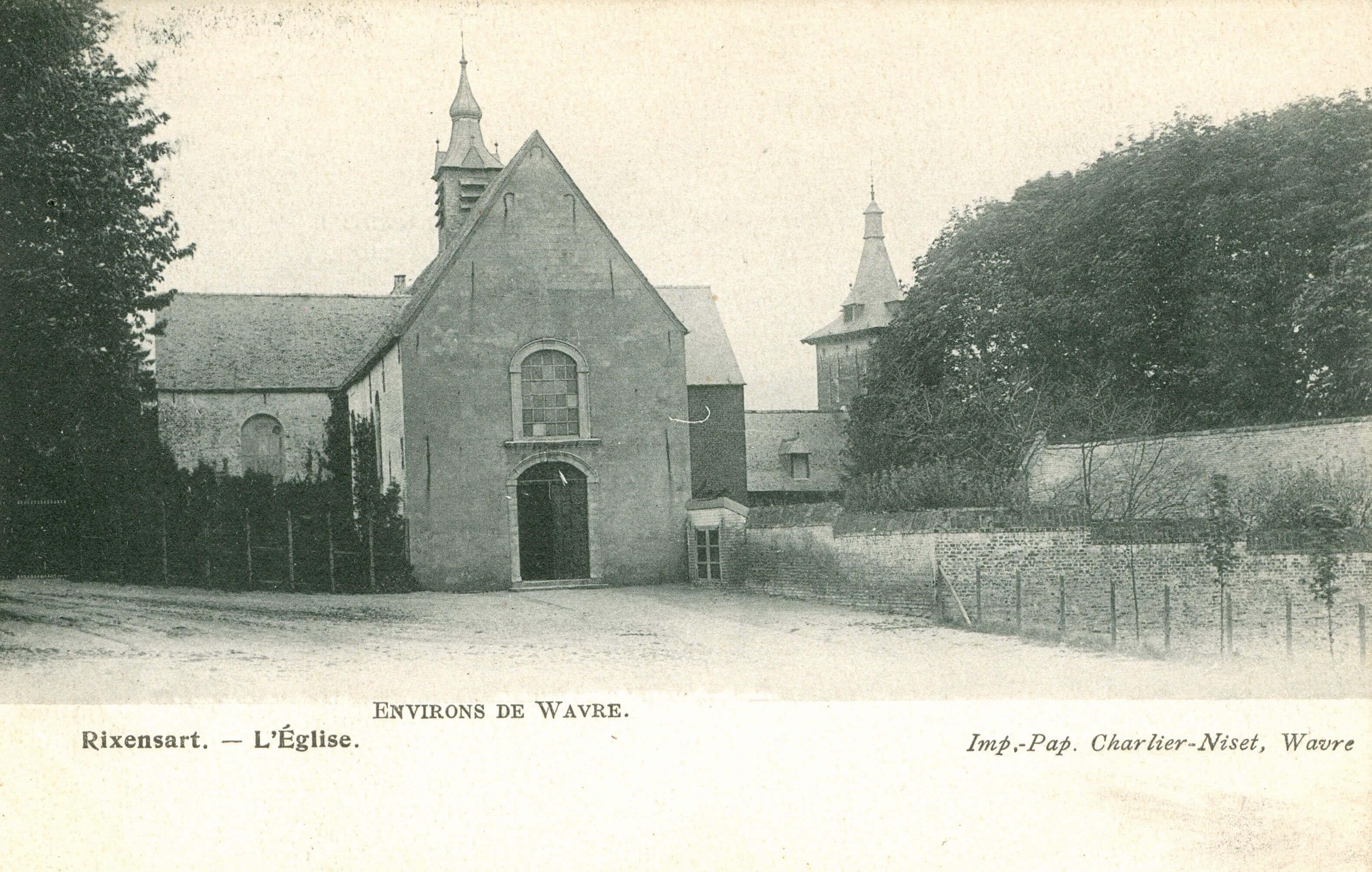 1B Eglise Sainte-Croix 1905 coll Jean-Claude Renier