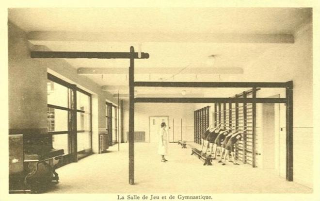 centre medico st elisabeth salle de gymnastique c Francis Broche