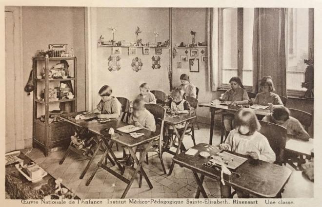 Institut Médico Pédagogique Sainte-Elisabeth une classe