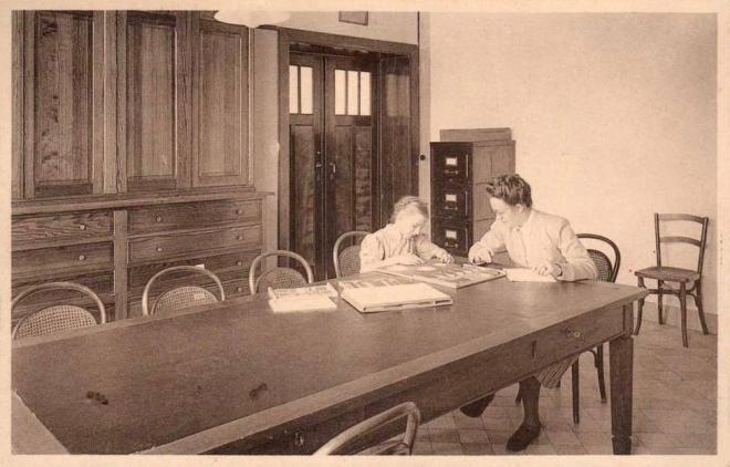 Institut Médico Pédagogique Sainte-Elissbeth Le Laboratoire