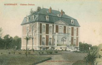 Le château Dubost où se trouvait la cantine coll Jean-Claude Renier