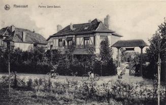 200316 Ferme Sans-Souci av de Merode 1913 coll. Jean-Louis Lebrun