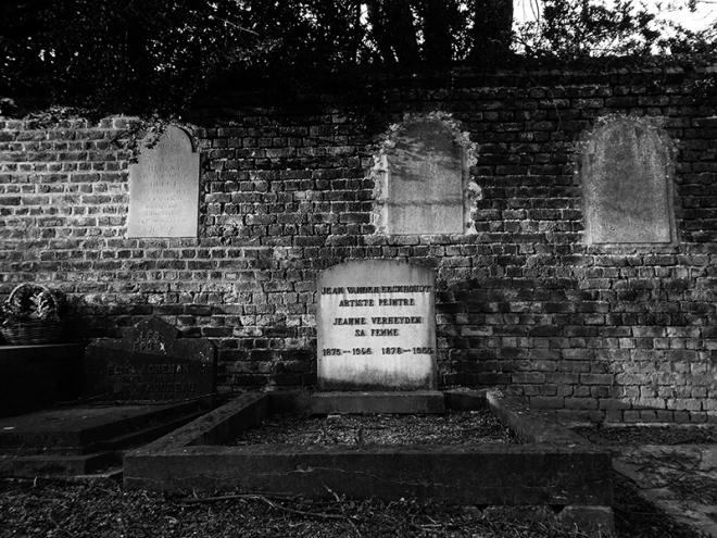 Jean Vanden Eeckhoudt cimetière de Bourgeois 4.2020 © Phil Edengarden 0