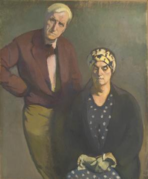 Jean Vanden Eeckhoudt et sa femme