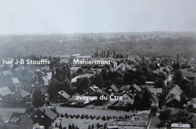 1985/1990 |Vue 4 depuis le château d'eau de Genval (photo F. Chauffoureaux, coll. Cercle d'Histoire de Rixensart)
